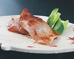 高級魚のど黒の味噌漬け